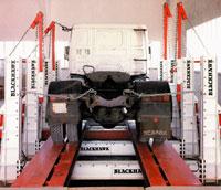 Стапель для грузовых а/м
